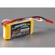 ZIPPY Compact 350mAh 2S 25C Lipo Pack *UK Stock*