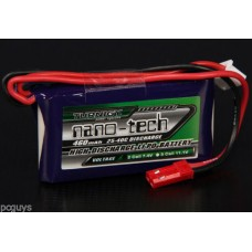 Turnigy nano-tech 460mah 2S 25~40C Lipo Pack *UK Stock*