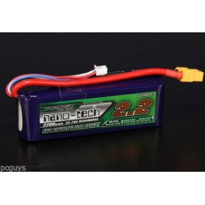 Turnigy nano-tech 2200mah 3S 11.1v 35-70C Lipo Pack stock from UK