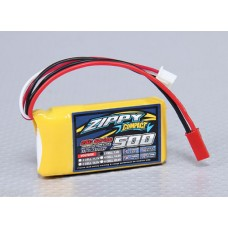 ZIPPY Compact 500mAh 2S 25C 7.4V Lipo Pack In stock from UK