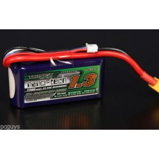 RC Turnigy nano-tech 1300mAh 3S 45~90C Lipo Pack.
