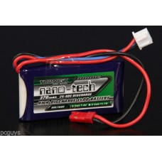 Turnigy nano-tech 370mah 2S 25~40C Lipo Pack *UK Stock*