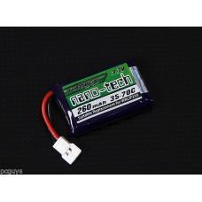 Turnigy nano-tech 260mah Lipo Battery RCWalkera QR Ladybird/Genius **B GRADE**