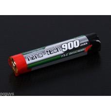 Turnigy nano-tech 900mah 1S 15C Round Lipo *UK Stock*