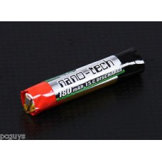 Turnigy nano-tech 180mAh 1s 15c Round Lipo *UK Stock* Fast dispatch