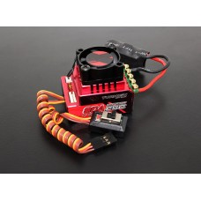 Turnigy Trackstar 80A Turbo Sensored Brushless 1/12th 1/10th ESC (ROAR approved) - UK stock