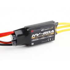 RotorStar 80A HV (4~12S) Brushless Speed Controller (OPTO) - UK stock